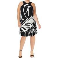 ed3ece6370 Shop Catherine Malandrino Womens Cass Cocktail Dress Chiffon Printed ...