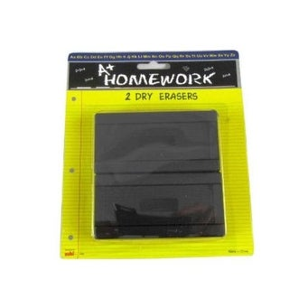 DDI Dry Erase Board Erasers - 2 Pack- Case of 48