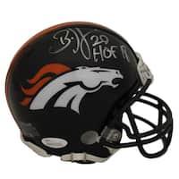 Brian Dawkins Autographed Denver Broncos Mini Helmet HOF JSA