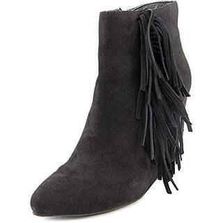Madden Girl Pave Women Round Toe Synthetic Black Ankle Boot
