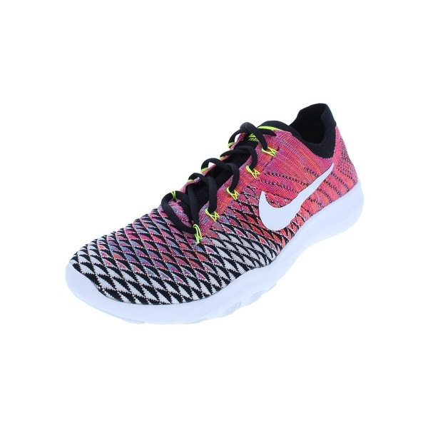 031925b54b20 Shop Nike Womens Free TR Flyknit 2 Running Shoes Lightweight Lace-Up ...
