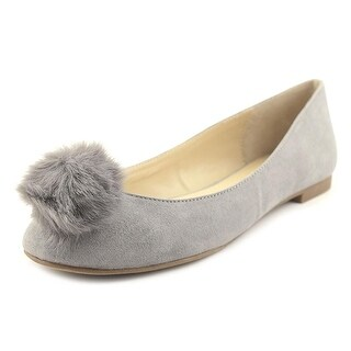 Charles By Charles David Danni Women Round Toe Suede Gray Flats