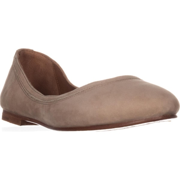 FRYE Carson Ballet Flats, Taupe - 9 us