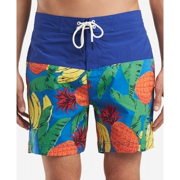 2012bc497b Shop Tommy Hilfiger Blue Men Medium M Fruit Swim Trunks Board Shorts - Free  Shipping On Orders Over $45 - Overstock - 28285740