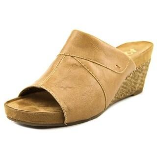 A2 By Aerosoles Light N Sweet Women Open Toe Synthetic Nude Wedge Heel