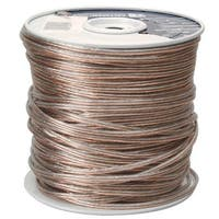 Coleman Cable 500ft. 18-2 Clear Speaker Wire   - Pack of 500