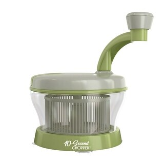 10-Seconds Chopper Multi-Function Food Processor, 4-In-1, As Seen On TV