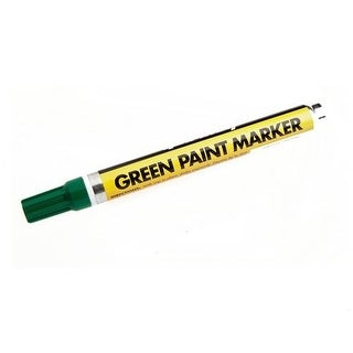 Forney 70823 Permanent Paint Marker, Green