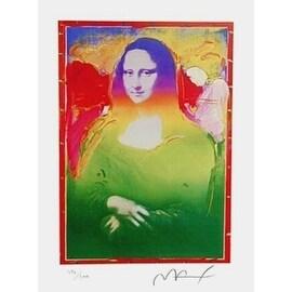 Mona Lisa II, Ltd Ed Lithograph, Peter Max