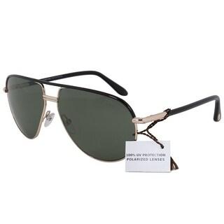 Tom Ford Cole Polarized Aviator Sunglasses FT0285 01J 61 POL