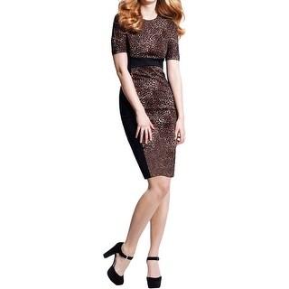 Michael Kors Womens Wear to Work Dress Ponte Animal Print - 14|https://ak1.ostkcdn.com/images/products/is/images/direct/c004b88ab4e2e5dfd80ebe060f69db9ac42f7daa/Michael-Kors-Womens-Wear-to-Work-Dress-Ponte-Animal-Print.jpg?_ostk_perf_=percv&impolicy=medium