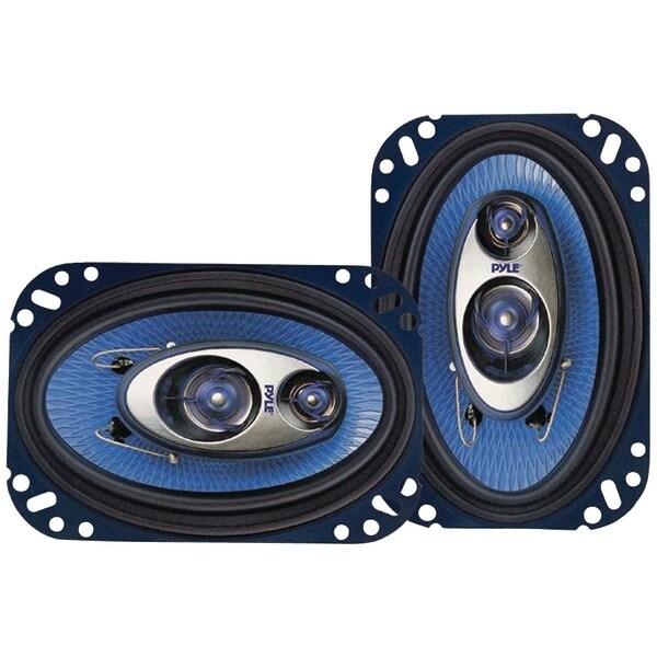 """PYLE PRO PL463BL Blue Label Speakers (4"""" x 6"""", 3 Way)"""