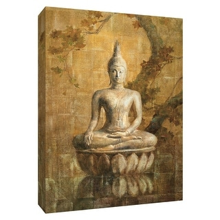 "PTM Images 9-154278  PTM Canvas Collection 10"" x 8"" - ""Buddha"" Giclee Asian Art Print on Canvas"