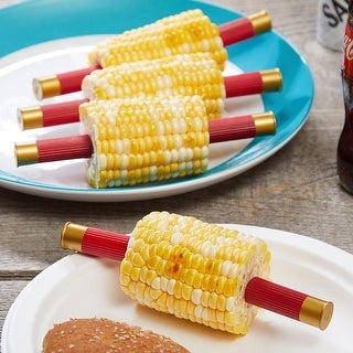 GrillHunter Shotgun Shell Corn Cob Holders, Set of 8