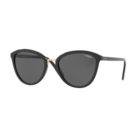 Vogue VO5270S W44/87 57 Black Woman Cat Eye Sunglasses