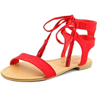 Chinese Laundry Reck Women Open Toe Synthetic Red Gladiator Sandal