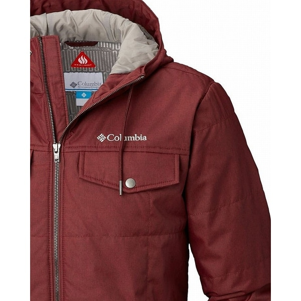 Columbia Men/'s Thermal Coil Hooded Jacket