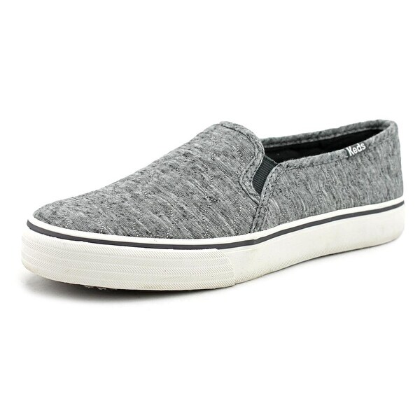 Keds DBL Deck Quilted Women Charcoal Sneakers Shoes