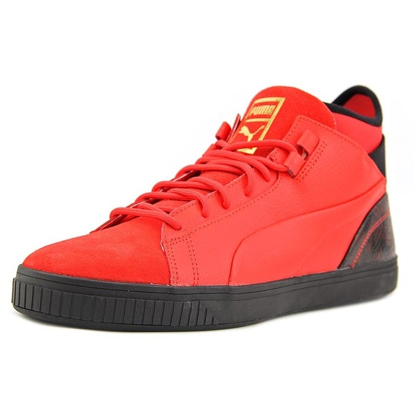 Puma Play Wine & Dine Men High Risk Red-Puma Black Sneakers Shoes