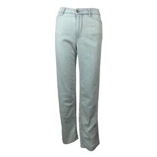 Lauren Ralph Lauren Women's Relaxed Straight Leg Jeans - 12