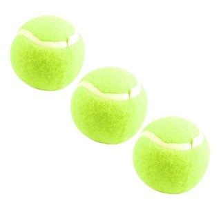 3 Pcs PU Foam Tennis Balls Yellow Green for Training and Match