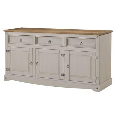Wood Buffet Sideboard Corona Collection