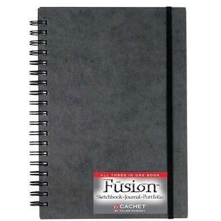 "Cachet/Daler-Rowney - Cachet Fusion Portfolio Sketch Book - 9"" x 12"""