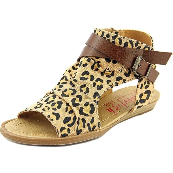 Blowfish Balla Girl Golden Safari Leopard/Whiskey Sandals