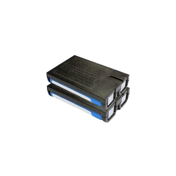 Replacement 700mAH P107 Battery For Panasonic BB-GT1500 / KX-TG2267B Phone Models (2 Pack)
