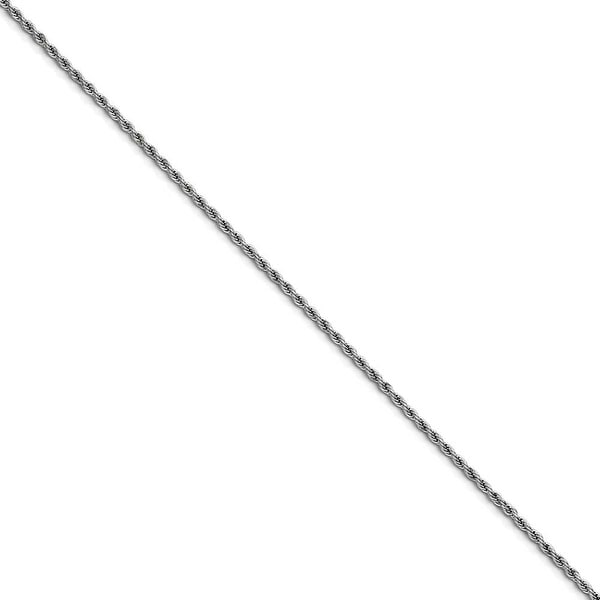 Chisel Stainless Steel 2.3mm 22 Inch Rope Chain (2.3 mm) - 22 in