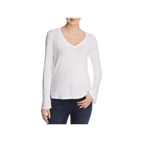 Splendid Womens T-Shirt Knit Bell Sleeves