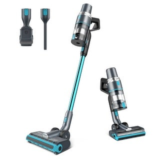 Link to JASHEN V18 Cordless Stick Vacuum Cleaner, LED Display, Hardwood Floor,Carpet Cleaning Similar Items in Vacuums & Floor Care