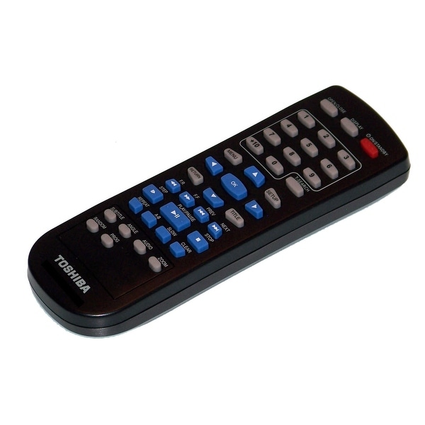 OEM Toshiba Remote Control Originally Shipped With: SD4300KC, SD-4300KC, SD4300KU, SD-4300KU, SD690KY, SD-690KY