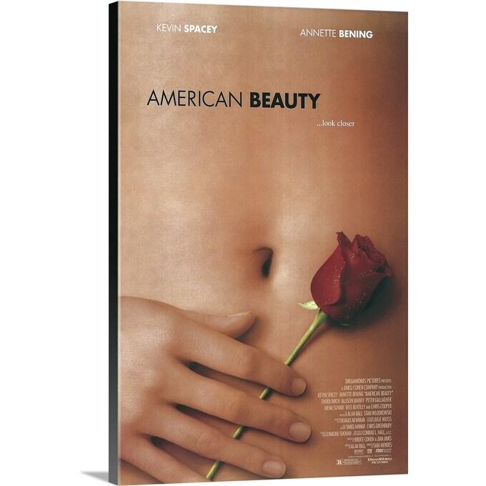 Shop American Beauty 1999 Canvas Wall Art Overstock 24135373