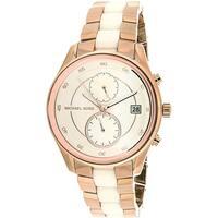 Michael Kors Women's Briar  Rose-Gold Stainless-Steel Quartz Fashion Watch