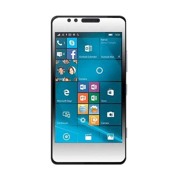 Insten Clear LCD Screen Protector Film Cover For Microsoft Lumia 950