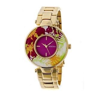Bertha Elizabeth Women's Quartz Watch, Stainless Steel Band