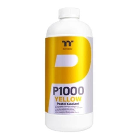 Thermaltake Accessory CL-W246-OS00YE-A P1000 Pastel Coolant Yellow Retail