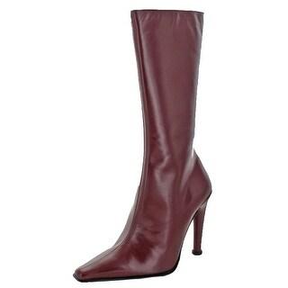 Charles David Womens Skye Mid-Calf Boots Pointed Toe Dress