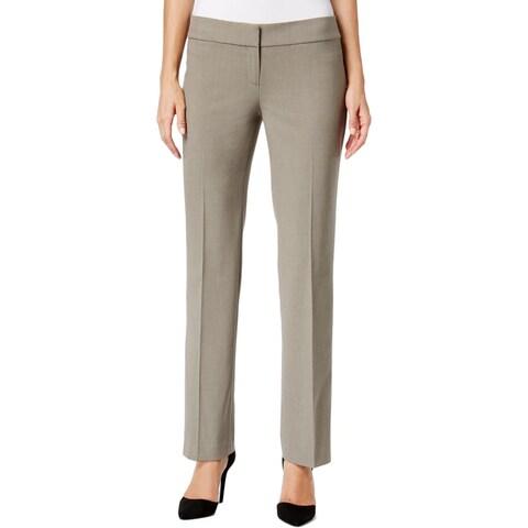 Nine West Womens Dress Pants Professional Faux Pocket
