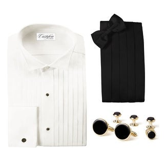 Elegant Tuxedo Package -Ivory Wing Collar