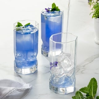 Link to Luminarc 16 Ounce Topaz Cooler Glass, Set of 4 Similar Items in Glasses & Barware