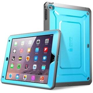 iPad Air 2 Case, SUPCASE, Unicorn Beetle Pro, Hybrid Protective Case, Hybrid Protective Case-Blue/Black