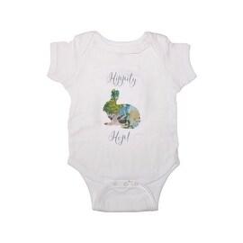 Fairytale Woodland Graphic Baby Girl Onesie