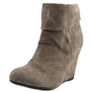 Report Riko Women  Round Toe Synthetic Gray Ankle Boot