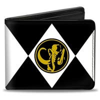 Diamond Black Ranger Mastodon Power Logo Bi Fold Wallet - One Size Fits most