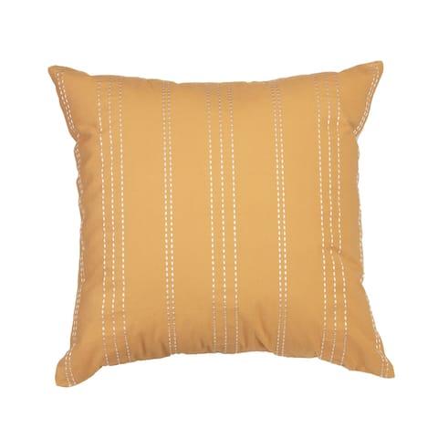 "Arden Selections Home 20"" Throw Pillow - Brooke Stripe Ochre"