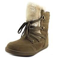 G By Guess Ryla Women Medium Brown Snow Boots
