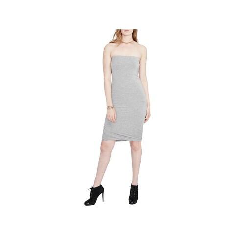 Rachel Rachel Roy Womens Cocktail Dress Strapless Knee-Length