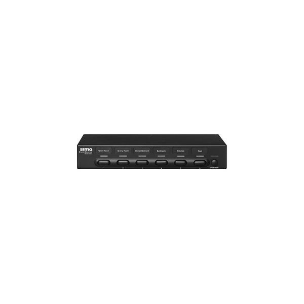sima SSW6B SIMA SSW-6 1 x 6 Speaker Selector with Impedance Protection